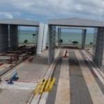Tomé Ferrostaal construindo sondas de exploração de petróleo em Alagoas