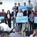Emprreendedores arrematam prêmios pelos excelentes projetos desenvolvidos com o apoio do Governo do Estado