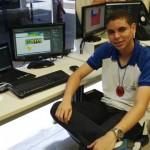 Aluno de Web Design do Senai Alagoas Mateus Paulino da Silva Santos foi um dos representantes do Brasil na terceira edição do WorldSkills Americas,