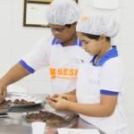 Estudantes da Rede Sesi em Maceió estão tendo aulas do Projeto Cozinha Brasil Infantil