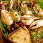 Carangueijos estão na relação do pratos saborosos no Nordeste