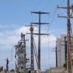 Palhoções sem a devida autorizações põem em risco a rede de energia