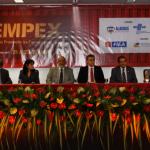 Presidente da Fiea, José Carlos Lyra, abre a nova edição da Sempex ao lado de outras autoridades