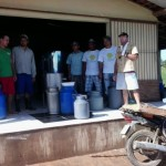 Produtores de leite decidem reinvestir dinheiro de prêmio em benefício da associação