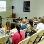 Presidente da Algas, Geoberto Espírito Santo, profere palestra para alunos da Engenharia  Química