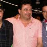 Rodrigo e Clovis Farias (Fazenda Horizonte), Luis Carlos (Haras São Luis) e Raimundo Beltrão (Haras RBM)