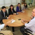 Executivos da Portobello informam ao governador Teo que pretendem inaugurar em dezembro a fábrica no Polo José Aprígio Vilela em Marechal Deodoro