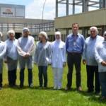 Diretores da CPLA visitam a indústria Aurora Alimentos