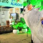 Presidente da Faeal, Álvaro Almeida, participa do lançamento da campanha da aftosa