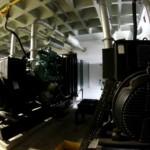Quatro geradores de energia a gás natural mantém o funcionamento contínuo do Supermercado Palato em horário de ponta