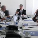 Antônio Carlos Quintiliano fez o último balanço ainda em sua gestão, e apresentou o novo presidente da Desenvolve, Antonio Pinaud, aos diretores