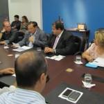 Presidente Wilton Malta apresenta as reivindicações do comércio ao secretário da Fazenda