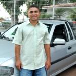 Comerciante Cristiano Silva instalou o GNV no seu automóvel para economizar