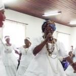 Baianas de Palmeira dos Negros em Igreja Nova abriram o evento