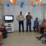 Diplomação dos alunos formados no curso de operador de informática do Senac