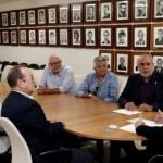 Governador Renan Filho ouvindo as demandas e sugestões dos empresários do comércio varejista de Maceió