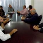 Presidente da Arsal, Marcos Vasconcelos, debate novos projetos com o presidente da Algás, Arnóbio Cavalcante