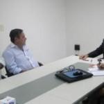 Presidente Antonio Pinaud realiza reunião com a diretoria do Sindicato de Panificadores