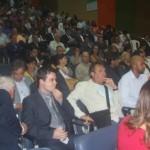Empresários participam da abertura do 5º ENIN no auditório da Casa da Indústria