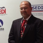Diretor-presidente da Algás, Arnóbio Cavalcante, ajudando a captar novos investimentos para o Estado de Alagoas
