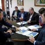 Executivos japoneses apresentam os projetos de ampliação da rede da Algás no Estado