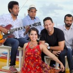 Juliana Mascarenhas e o quarteto musical JassBozz