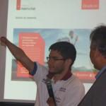 Yohansson do Nascimento no lançamento da nova campanha da Braskem em Maceió