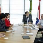 Governador Renan Filho conversa com empresários no Palácio da República dos Palmares