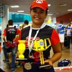 Aluna orgulhosa e feliz com a oportunidade de representar Alagoas e o Brasil na Espanha