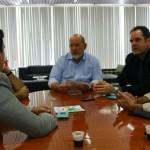 Presidente José Carlos Lyra e diretores da Fiea realizam reunião com o superintendente do SRTE Israel Lessa e o auditor fiscal do Trabalho Leandro Carvalho