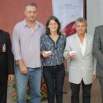 Superintendente do Banco do Nordeste em Alagoas, Antônio César, com empresários alagoanos no lançamento do cartão FNE