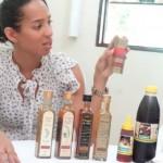 Empreendedora Marília Calheiros apresenta a linha de produtos derivados do mel da abelha