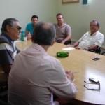 Membros da diretoria da Coplan sob a liderança do presidente Fernando Rossiter