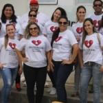 Equipe do Pró-Medula engajada na campanha de doação de sangue