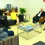 Embaixadora Marianne Feldemann em encontro com os dirigentes da Fiea
