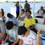 Barco-Escola do IMA recebe estudantes de Salvador, Bahia