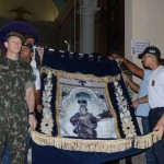 Arcebispo Dom Antônio Muniz destaca a participação do Exército Brasileiro que carregou a bandeira da Padroeira Nossa Senhora dos Prazeres