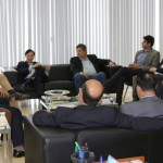 Vice-presidente da Fiea, José da Silva Nogueira Filho, e empresários alagoanos estiveram reunidos com  o presidente da Câmara de Comércio Brasil-China (CCBC), economista Charles Tang
