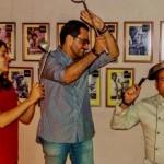 Luiz Guzman, Paula Amélio e o chef Zé Pereira