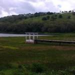 Barragem de Carangueja atinge nível preocupante