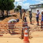Obra de esgotamento sanitário vai ampliar infraestrutura no bairro do Farol