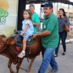 Opções de diversão para a criançada atraem famílias para a Expoagro