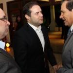 Governador Renan e o vice Luciano Barbosa confirmam a antecipação do décimo terceiro salário para o presidente do Fecomércio Wilton Malta