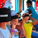 Barco-Museu oferece lazer e conhecimento às crianças das comunidades ribeirinhas do Velho Chico