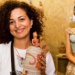 Maria Corá, artesã homenageada que trabalha com cerâmica há 14 anos