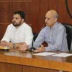 Presidente do Sindaçúcar, Pedro Robério, e presidente do IMA/AL, Gustavo Lopes, assinam termo de cooperação em favor do meio ambiente