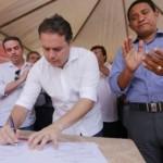 Governador assina ordem de serviços para atender população de Palmeira dos Índios