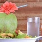Água de coco é muita indicada para consumo neste período de Carnaval