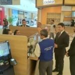 Fiscais do Procon/AL junto aos representantes da Comissão estão circulando nos centros de compras, próximos aos locais de validação do ticket