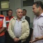 Renan Filho pede ao presidente Temer a liberação de recursos emergenciais para conter enchentes e construir encostas